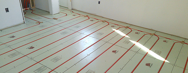 radiant heat system design