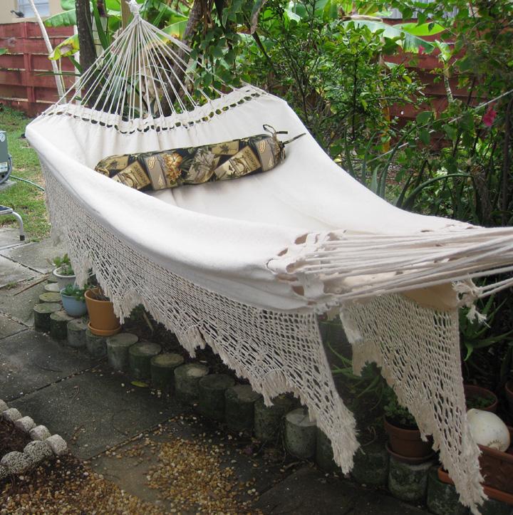 vivere style free hammock brazilian in oasis shipping double