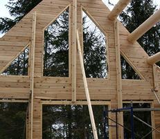 log home building tips