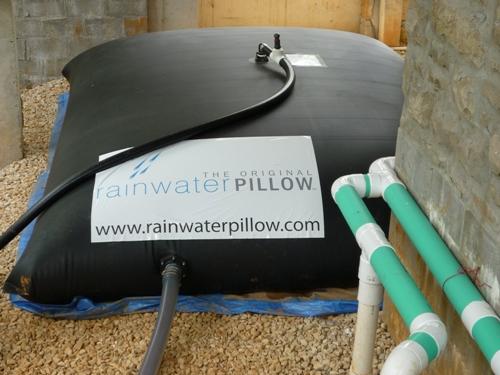 rainwater caching
