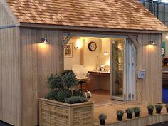 she shed log home outbuilding