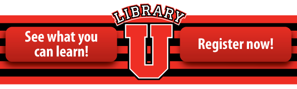 See what you can learn at Library U