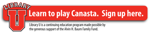 Learn to play Canasta at Library U.