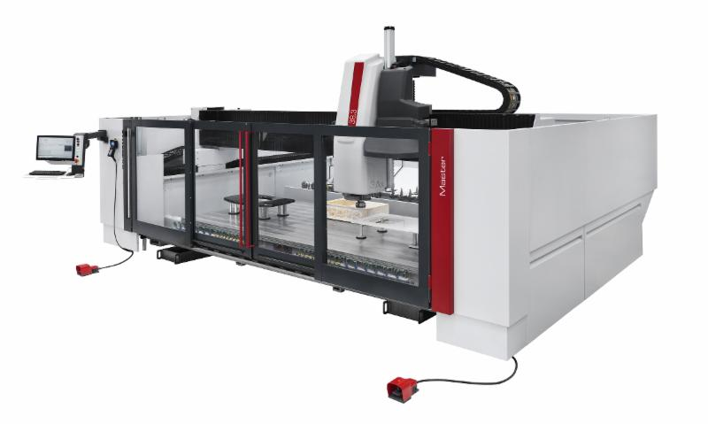 A Great Example Of The Intermac Technology You Can Experience In Toronto Is Our Intermac  Axis Master Cnc The 5 Axis Head With Its Endless Rotation C