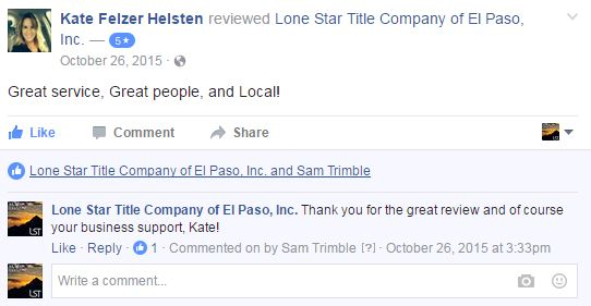 Selling more homes using Facebook reviews and ratings