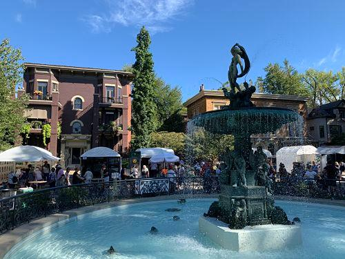 Louisville fountain