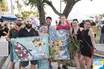 Miami Coconut shoppers