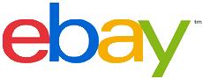 eBay's NEW logo - clear background