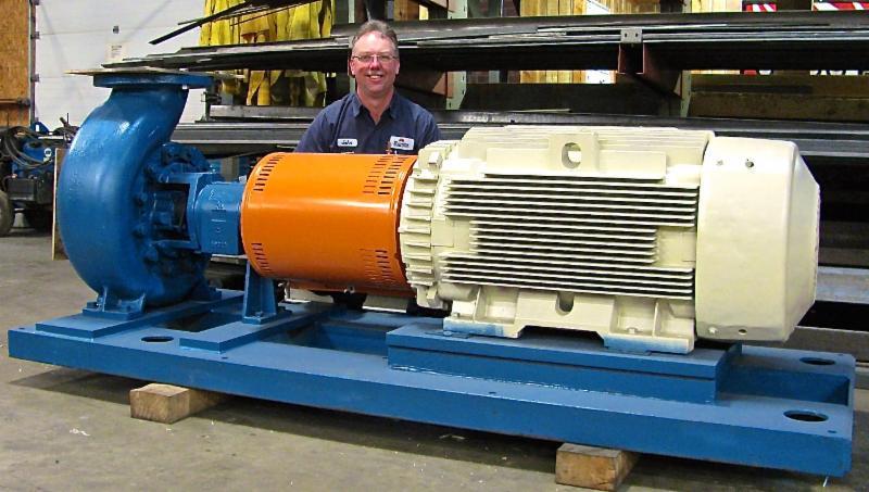 100hp motor and pump