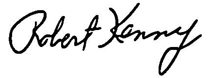 Bob Kenny signature