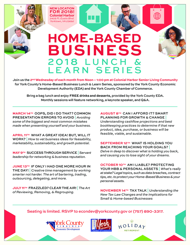 Home Based Business Lunch & Learn