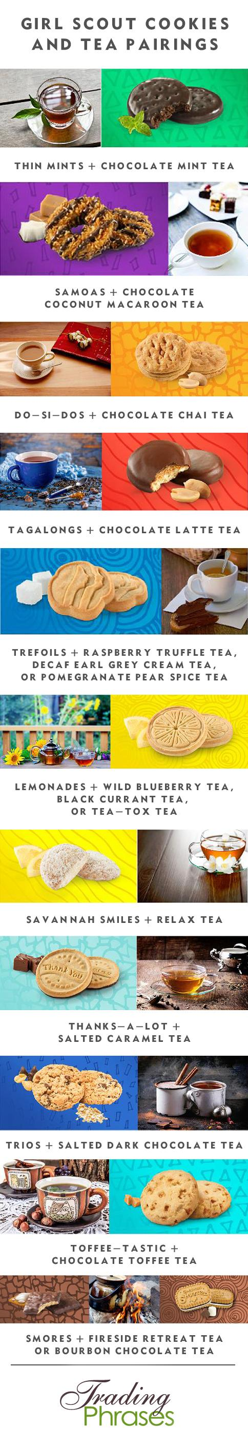 231acdd23026d Tea and Girl Scout Cookie Pairings - Trading Phrases