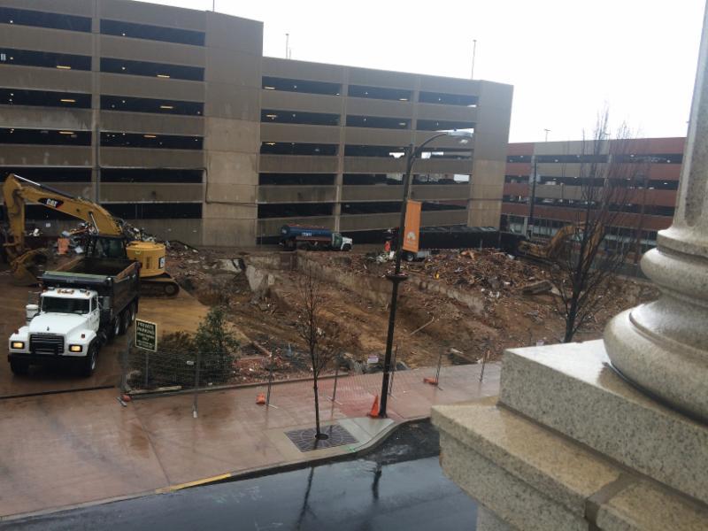PHOTO:  Strata II Demolition