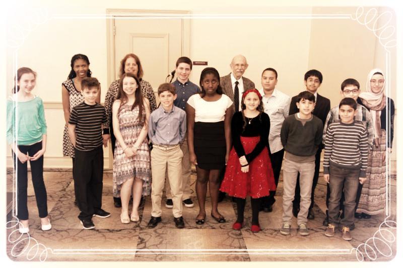 CMS April 3 Student Recital Group Photo