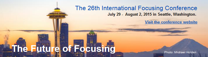 International Focusing Conference 2015 in Seattle