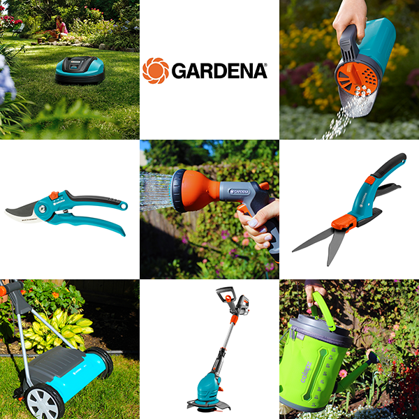 The latest lawn and garden products from gardena top for Best garden tools brand