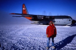 This Hercules C-130 was the last plane to leave marking nine months of total isolation