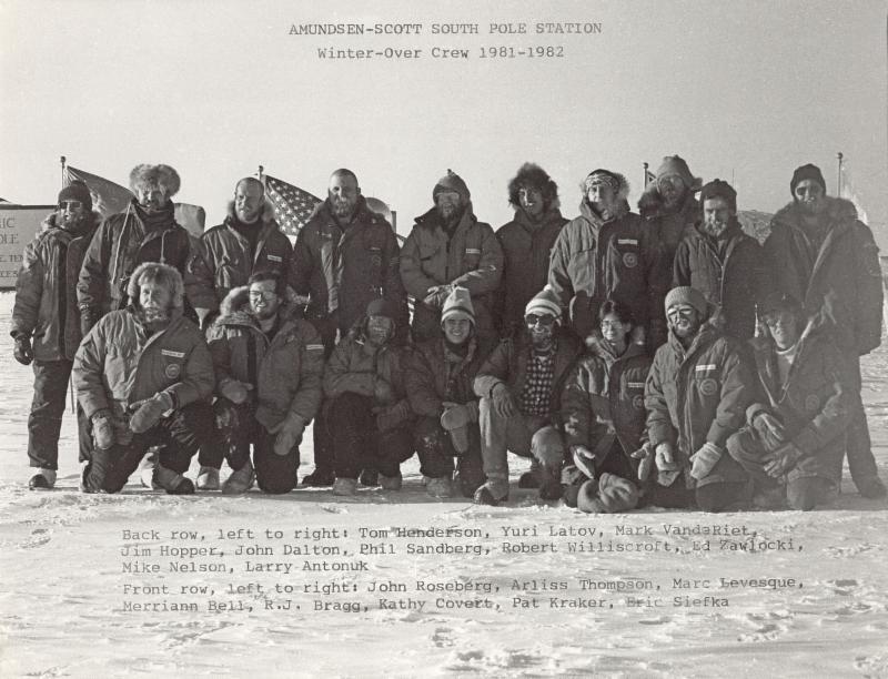 Amundsen-Scott South Pole Station Winter-over Crew 1981 - 1982