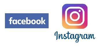 FB and Instagram logos