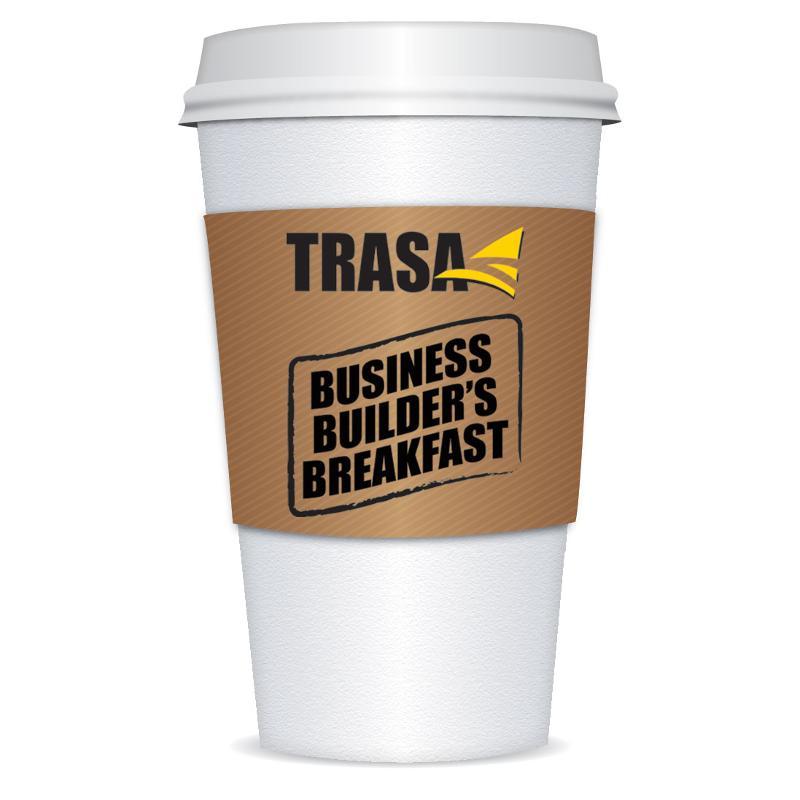 breakfast meeting cup