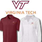 Virginia Tech New Logo Items
