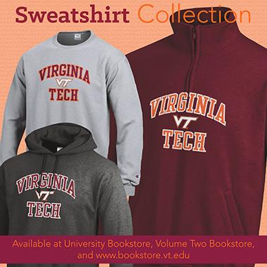 Virginia Tech Sweatshirt Collection