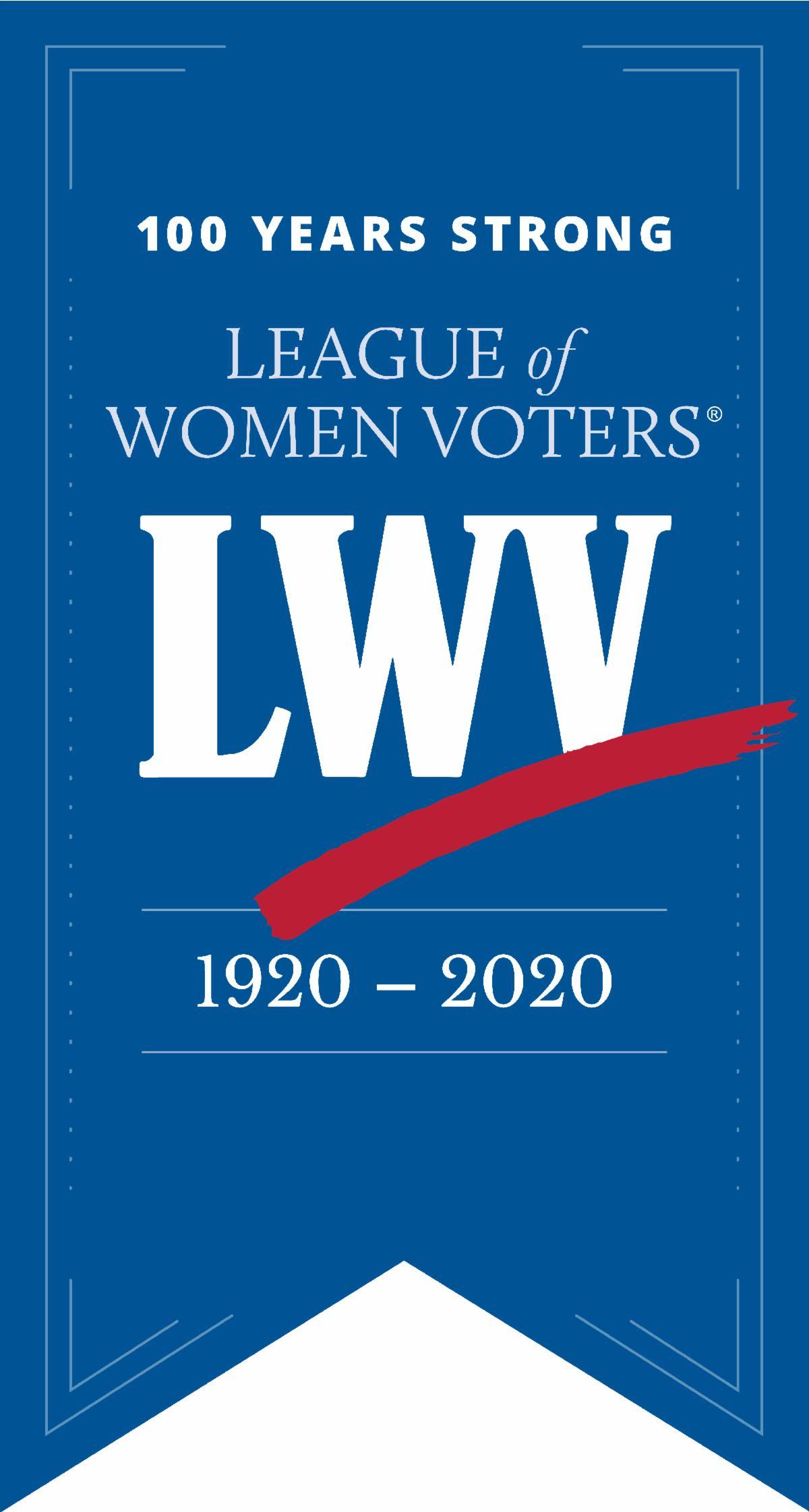 LWV 100 Years Pin