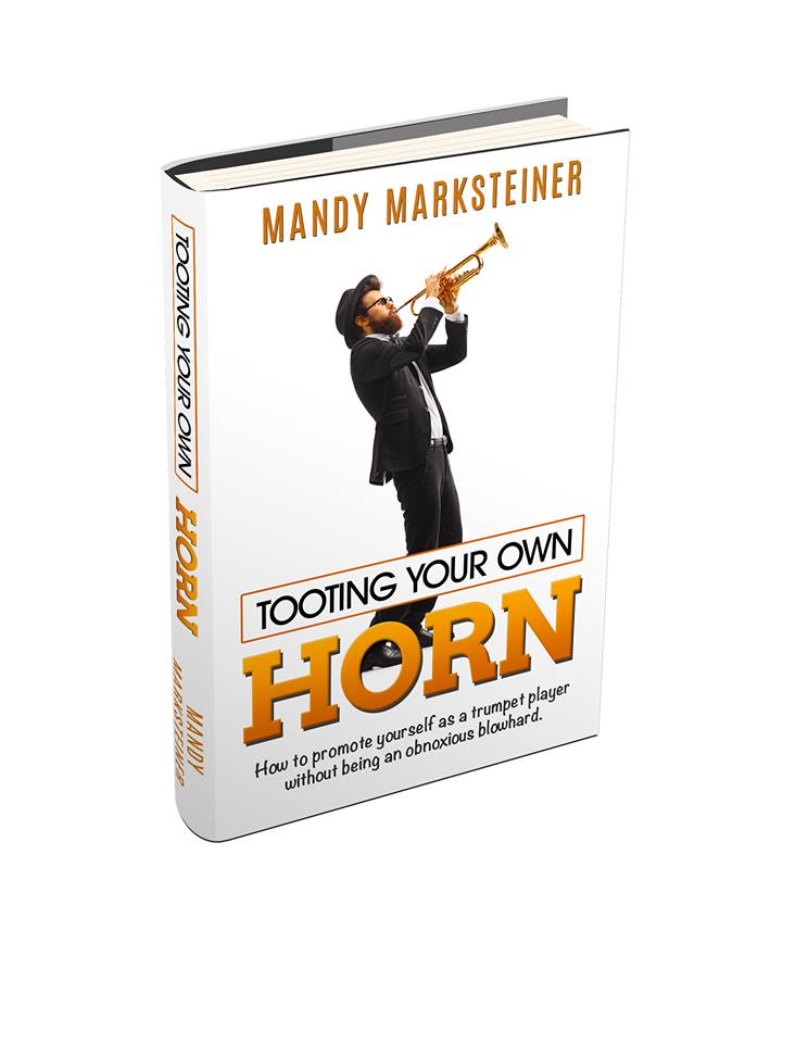cover of Tooting Your Own Horn by Mandy Marksteiner