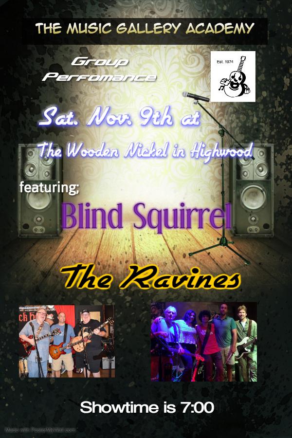 Poster for November Performances