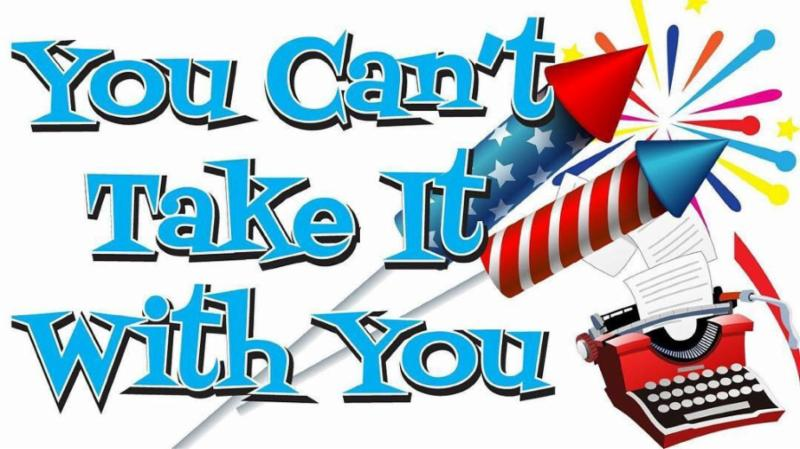 """nj arts maven: Auditions now being scheduled for """"You Can't"""