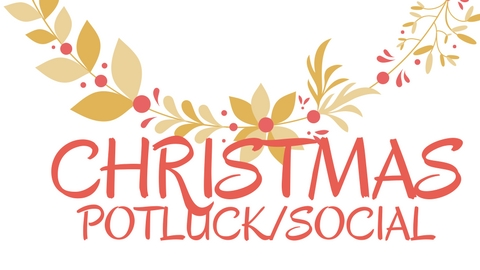 Christmas Potluck.Christmas Potluck Social