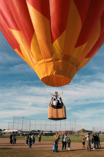 RV Rental Idea - Colorado River Crossing Balloon Festival