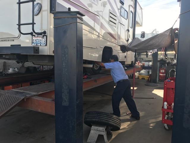 Service for your RV