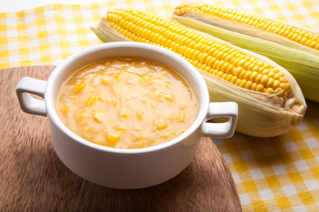 RV Camping Recipe of the Month - Corn Chowder