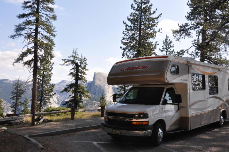 RV Camping in Yosemite