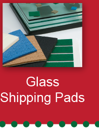 Glass Shipping Pads