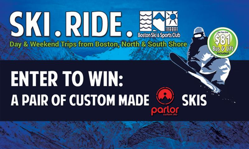 Ski Enter to Win Card