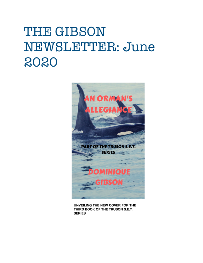 Here is the latest edition of The Gibson Newsletter for June 2020. Enjoy!