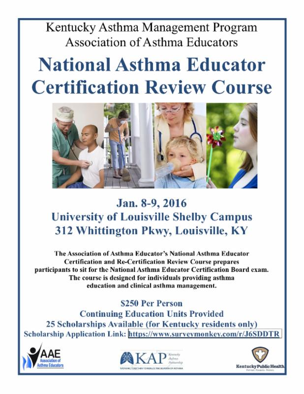 Kentucky Asthma Management Program Together With The Association Of