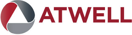 Atwell_ LLC red and gray logo