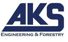AKS in blue text Engineering _ Forestry