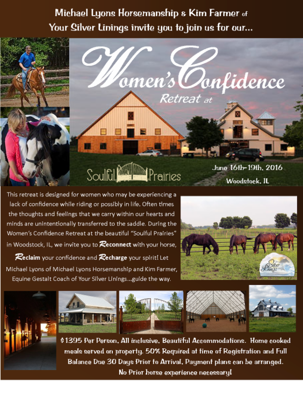 Women's Confidence Retreat @ Soulful Prairies, IL, June 16th