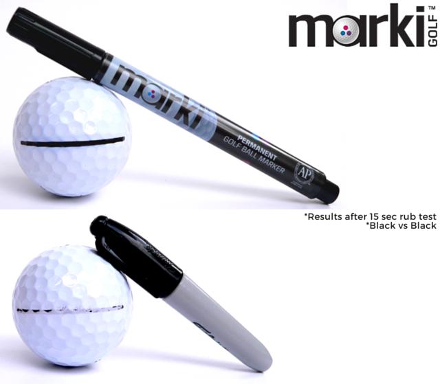 marki permanent golf ball marker from australia