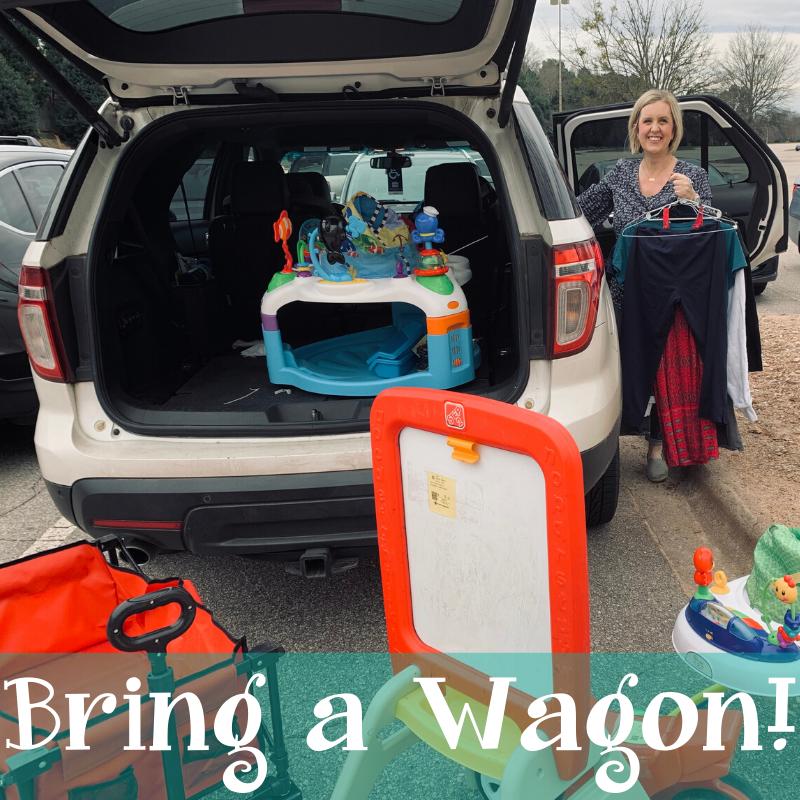 bring a wagon dropoff image