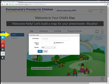 Create a map for your child