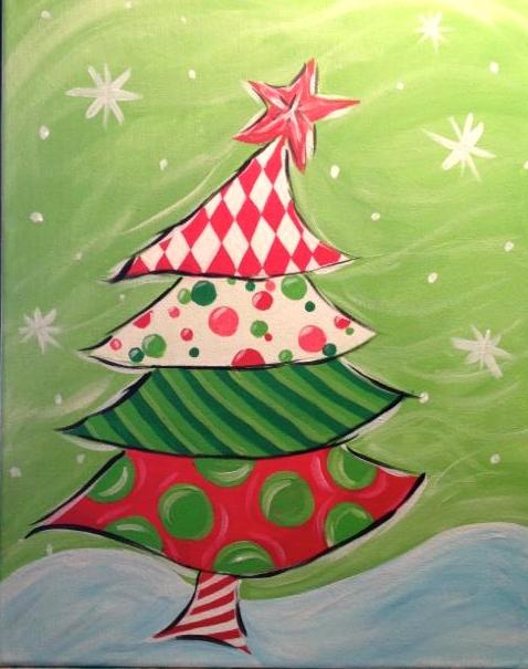 whimsical christmas tree galloway station