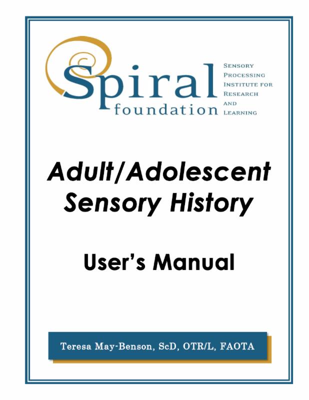 Program For Essential Competencies In Sensory Integration