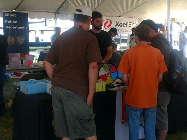 Pathfinder booth at the North Dakota State Fair