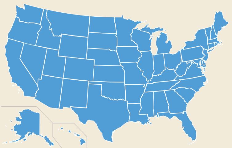 VSI State Map