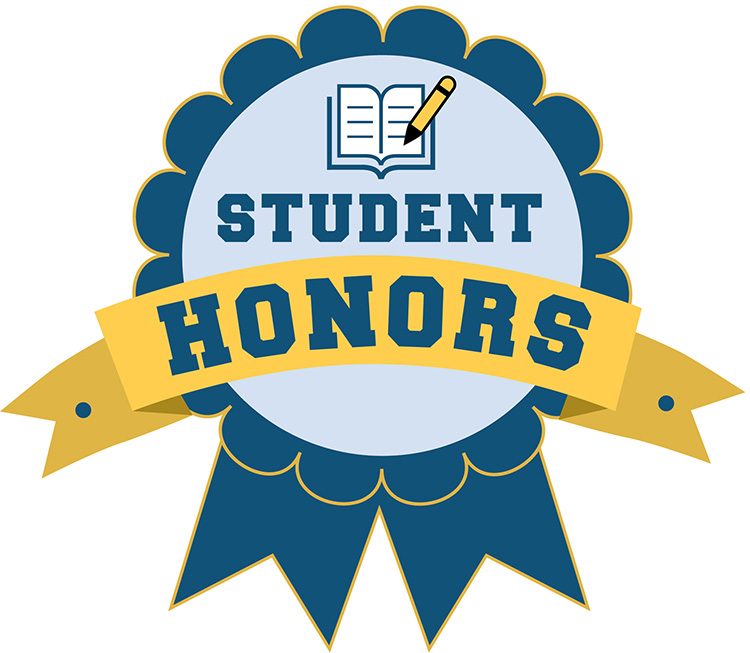 Student honors logo